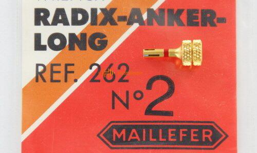 MAILLEFER RADIX ANKER HANDWRENCH GOUD REF.262 NR.2-L ROOD (1st)