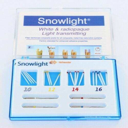 CARBOTECH SNOWLIGHT PINSYSTEEM INTRO VERPAKKING MET 4 BOREN (20st)