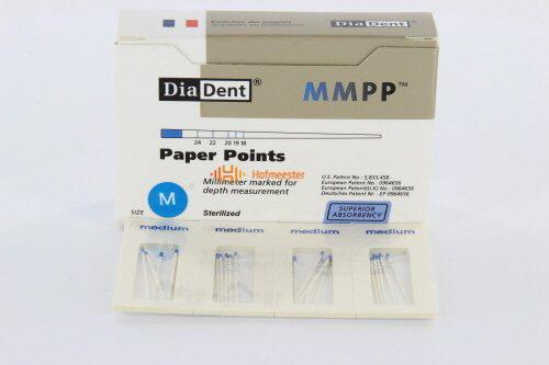 DIADENT PAPERPOINTS CELLPACK MEDIUM (200st)