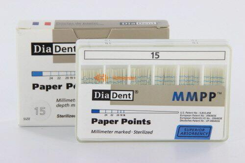 DIADENT PAPERPOINTS COLOR-CODED NR.15 WIT (200st)
