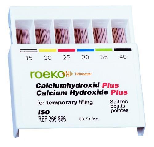 ROEKO CALCIUMHYDROXIDE POINTS ASSORTED NR.45-80 (60st)