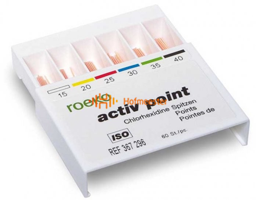 ROEKO ACTIV POINTS ASSORTED NR.15-40 (60st)