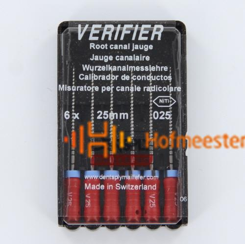 MAILLEFER THERMAFIL VERIFIERS NR.25 ROOD (6st)
