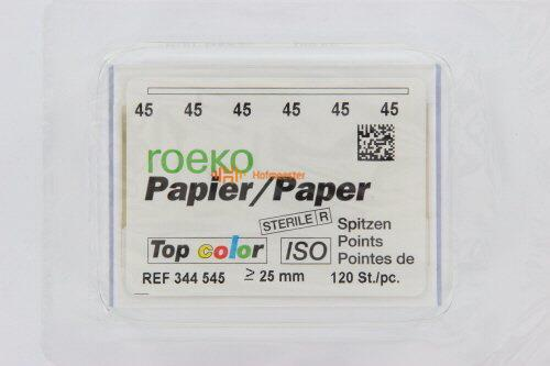 ROEKO PAPERPOINTS TOP-COLOR NR.45 WIT (120st)
