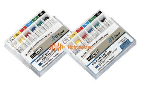 DIADENT DIAPRO ISO PAPERPOINTS .04 ASSORTED NR.45-80 (60st)