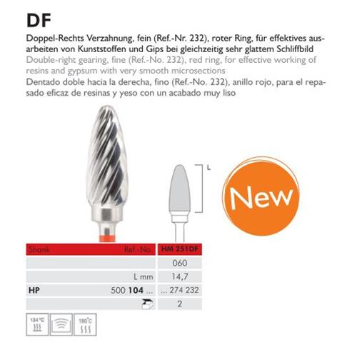 MEISINGER HP CARBIDE FRAIS 251DF060 (2st)