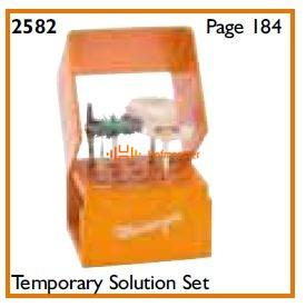 MEISINGER TEMPORARY SOLUTION KIT 2582