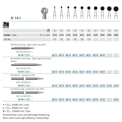 KOMET HP CARBIDE H141/018 (5st)