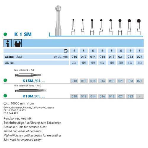 KOMET CERABUR RA-LONG K1SM018 (5st)