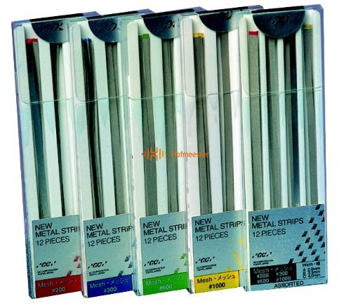 GC METALSTRIPS ASSORTED REFILL GROEN TBV FINISHING (3x4st)