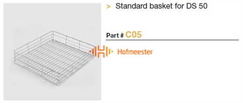 STEELCO STANDARD BASKET DS50