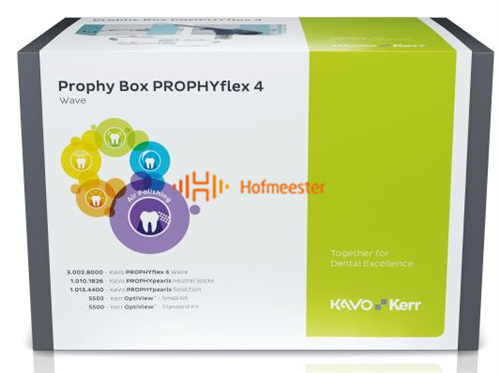 KAVO PROPHY BOX PROPHYFLEX 4 WAVE (BLAUW) SET REF: 1.013.5078