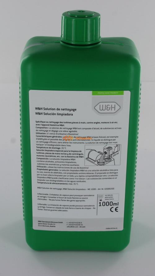 W&H ASSISTINA CLEANING SOLUTION MC-1000 (1000ml)
