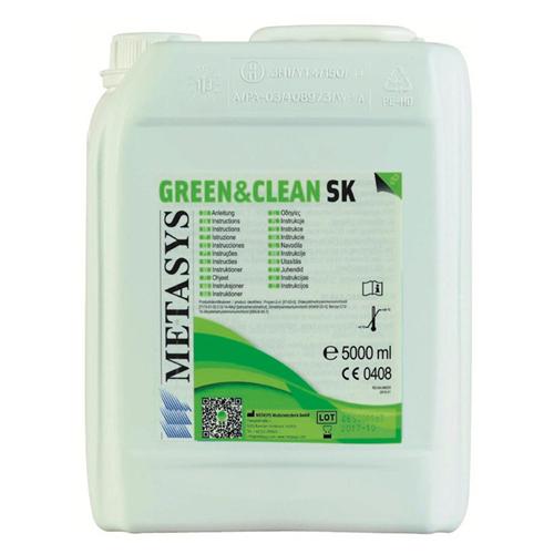 METASYS GREEN&CLEAN SK ALCOHOL VRIJ OPPERVLAKTE DESINFECTANT FOAM REFILL (5ltr)