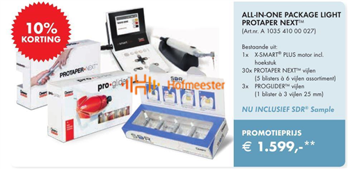 MAILLEFER X-SMART PLUS STARTERKIT PROTAPER NEXT