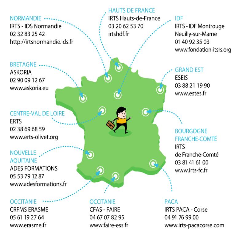 Onze centres de formation proposent le dispositif Oasis handicap, dont deux en Occitanie.