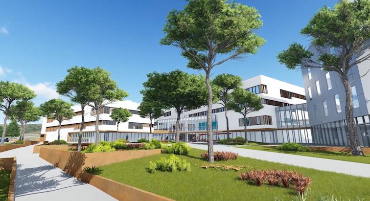 Le futur Hôpital privé du Grand Narbonne débute sa construction dans l'Aude.