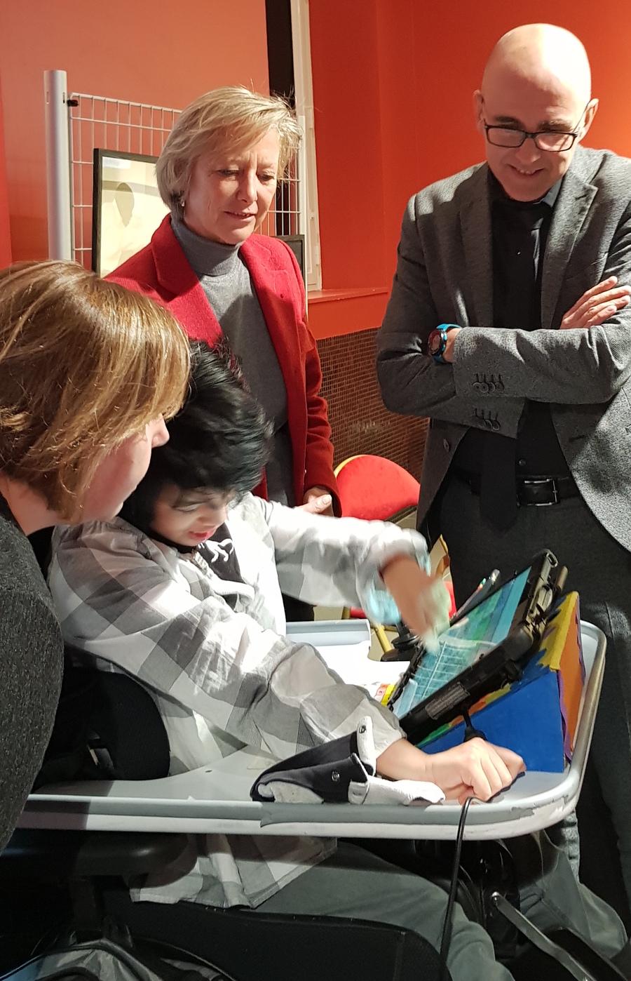 Garance Viederman dialogue avec Sophie Cluzel et Frédéric Bierry.
