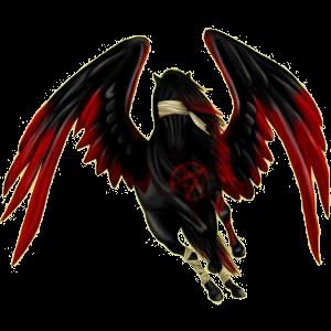 Pegasus-Reitpferd Paint Horse Overo-Fuchsschecke