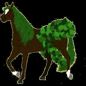 Pegasus-Pony Shetlandpony Rotbrauner