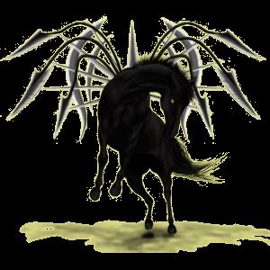 Pegasus-Pony Deutsches Reitpony Brauner