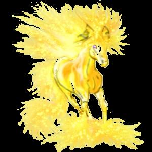 Pony Neufundland Pony Hellgrau