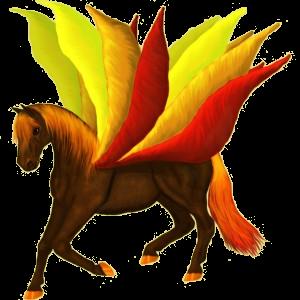 Pegasus-Pony Deutsches Reitpony Rotbrauner