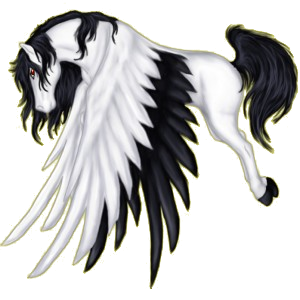 Pegasus-Reitpferd Araber Hellgrau