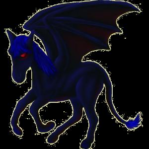 Pegasus-Reitpferd Paint Horse Apfelschimmel mit Tobiano-Scheckung