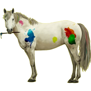 Reitpferd Mustang Rotschecke