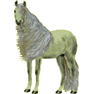 Pegasus-Reitpferd Araber Rotbrauner
