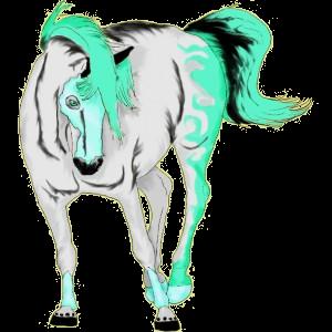 Cavallo da corsa Akhal-Teke Daino