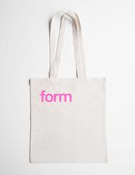 form Stofftasche pink