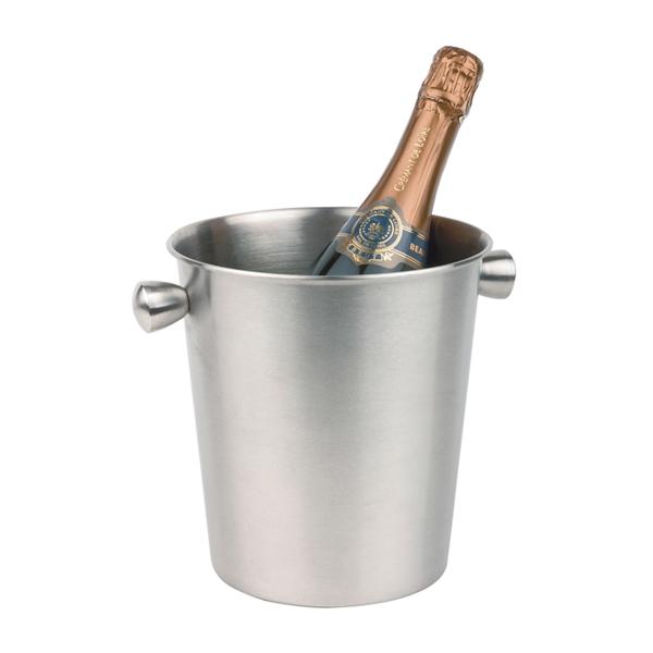 Företagsjulklappar - Vin & Champagnekylare Rostfri Med Hantag 4L 36021