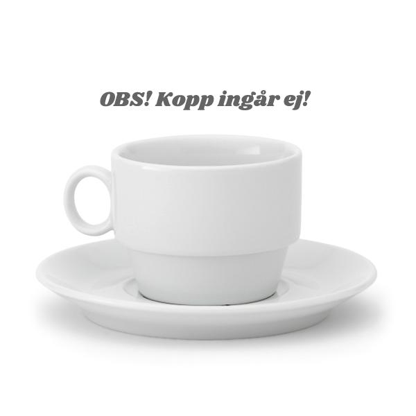Kaffefat Princip D:14cm Vit