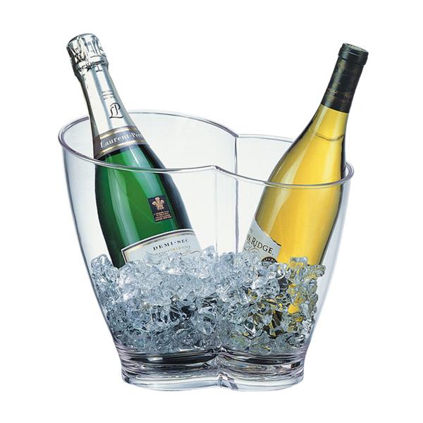 Företagsjulklappar - Vin & Champagnekylare Transparant 4L 36056