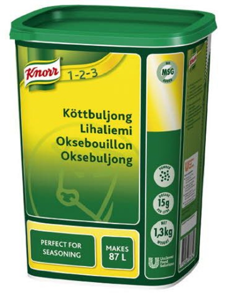 Buljong Kött Knorr 1,3kg