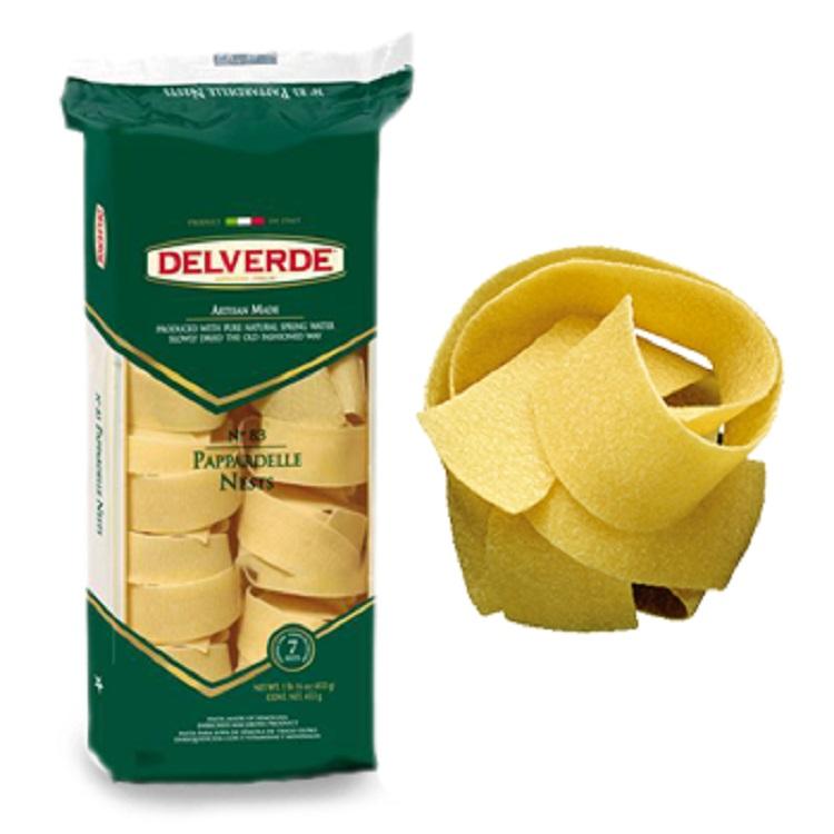 Pasta Delverde Pappardelle(utan ägg)250G