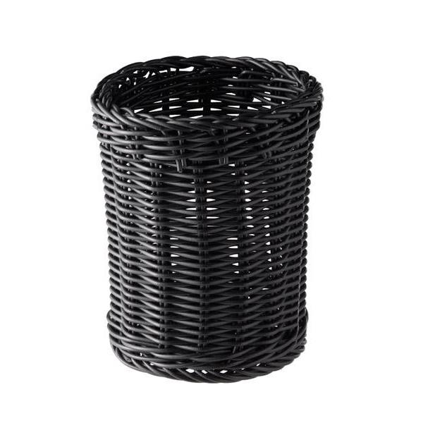 Företagsjulklappar - Korg svart D:12cm H:15cm 40007