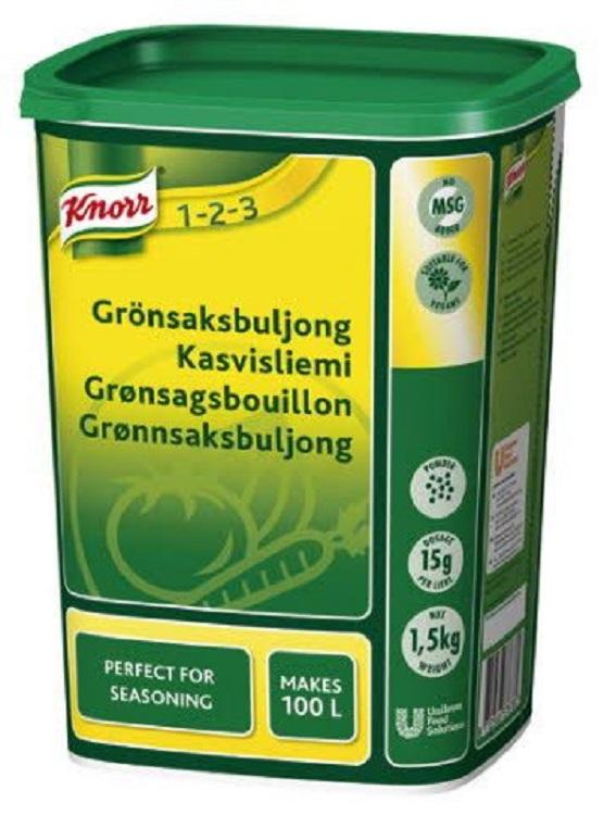 Buljong Grönsaks Knorr 1,5KG
