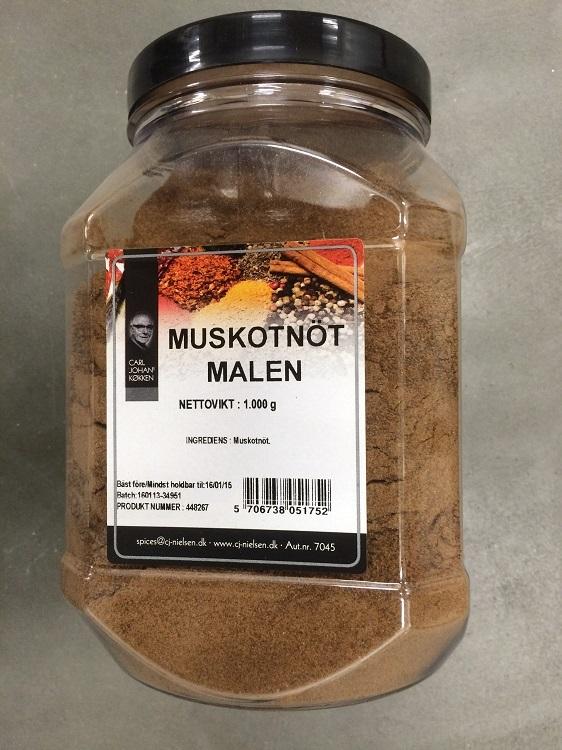 Krydda Muskot Malen 1KG Nielsen