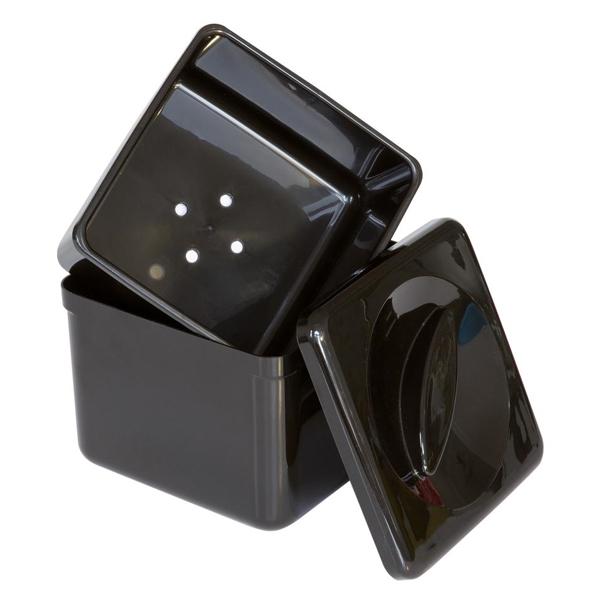 Isbox 3,4L Plast Svart 93200