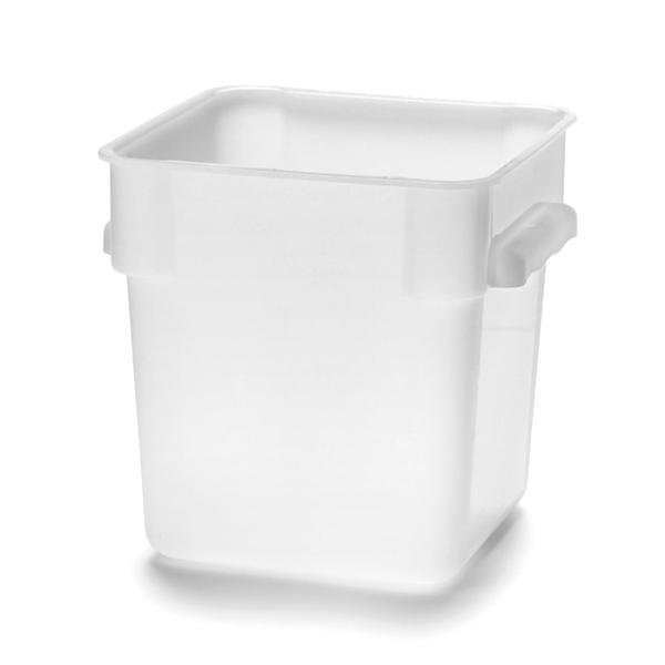 Förvaringsbox 8L PP Vit 225x225xH230mm