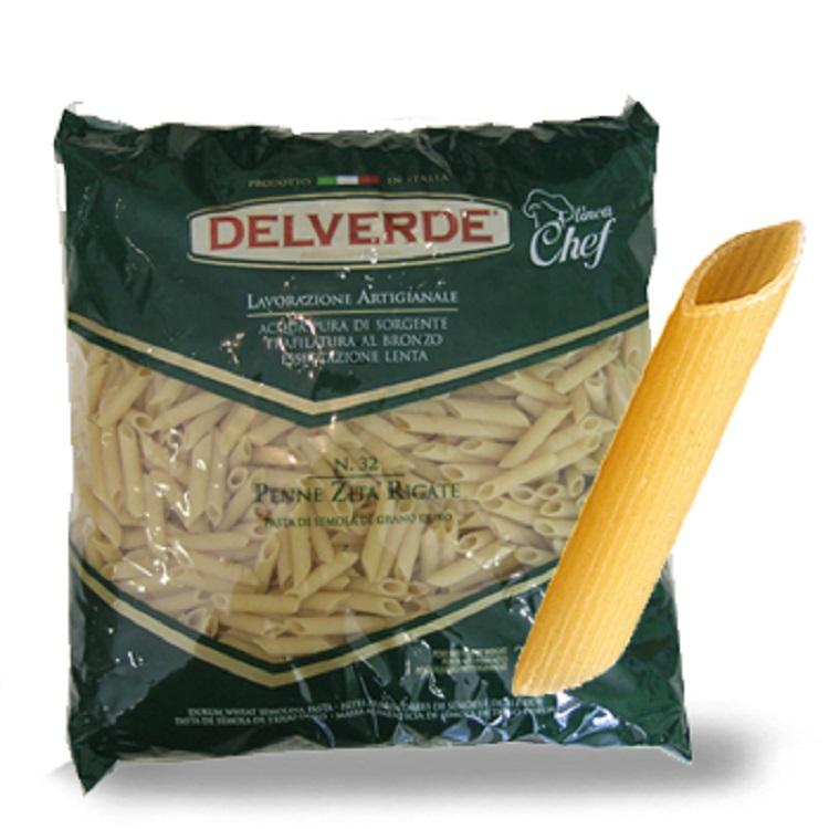 Pasta Delverde Penne Rigate 3KG