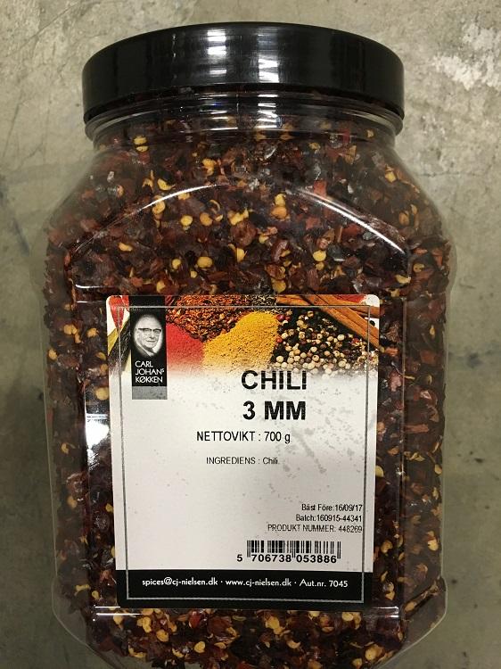 Krydda Chiliflakes 700G Nielsen