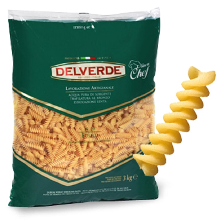 Pasta Delverde Fusilli 3KG