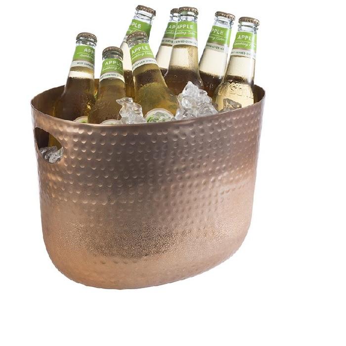 Företagsjulklappar - Vin & Champagnehink Hamrad Koppar 7L 36111