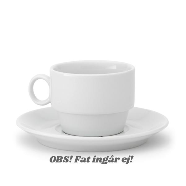 Kaffekopp Princip 19cl Stapelbar