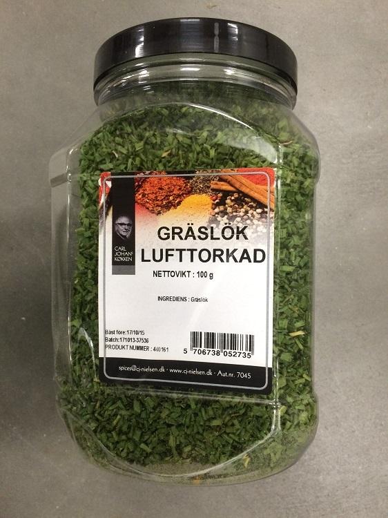 Krydda Gräslök Torkad 100G Nielsen