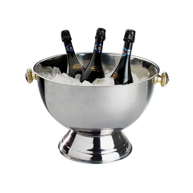Företagsjulklappar - Vin & Champagnekylare Rostfri 20L 36047
